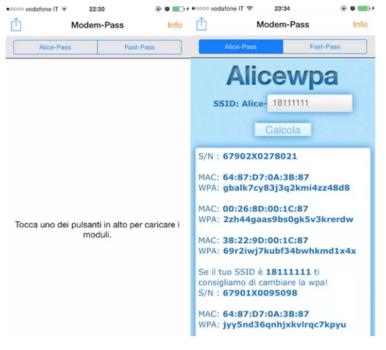 Scoprire password WiFi con iPhone delle reti a cui ci si è già collegati